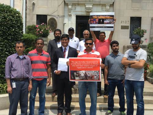 Memorandum to Indian Embassy, DC on Amarnath Yatra attacks