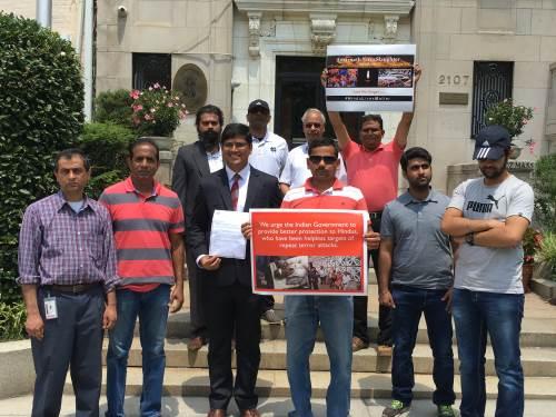 Memorandum to Indian embassy in Washington DC on Amarnath Yatra killing