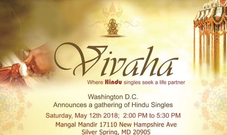 Vivaha - Hindu singles meetup in Washington DC